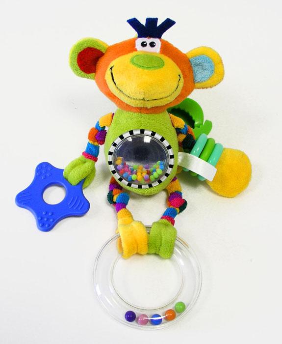 Mommy Love Мягкая игрушка-погремушка Цирк