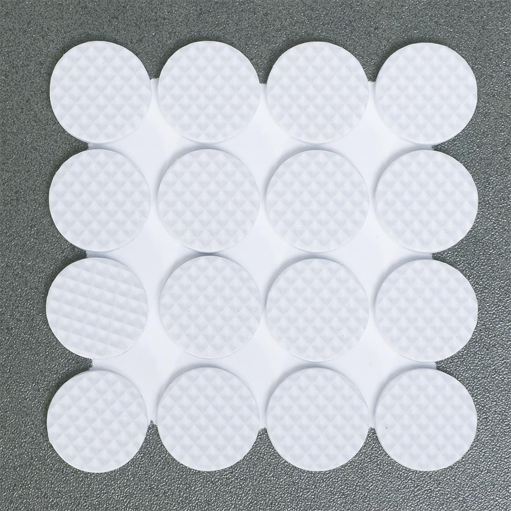 Защитные самоклеящиеся наклейки для мебели Tatkraft Rolf, цвет: белый, 32 шт наклейки для мебели top star защитные цвет коричневый диаметр 2 5 см 12 шт