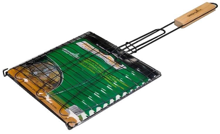 Решетка-гриль Green Glade, с антипригарным покрытием, 28 х 28 см решетка гриль forester большая с антипригарным покрытием 26х45 см bq ns02
