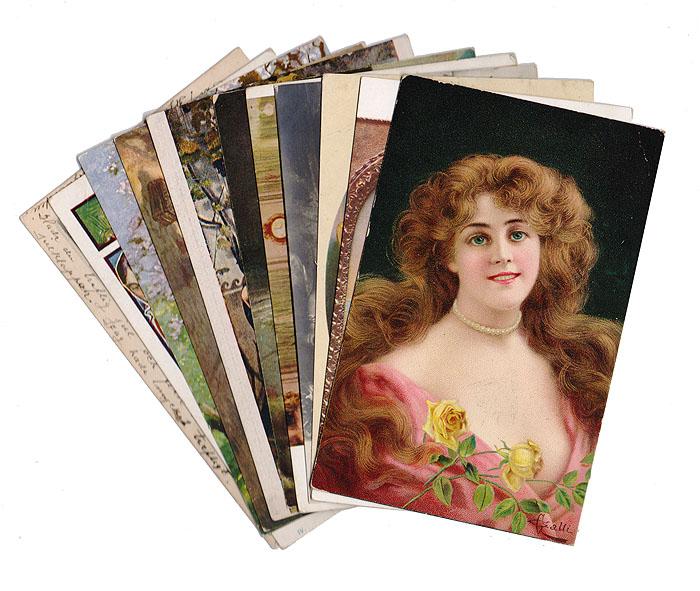 День, набор открыток с живописью