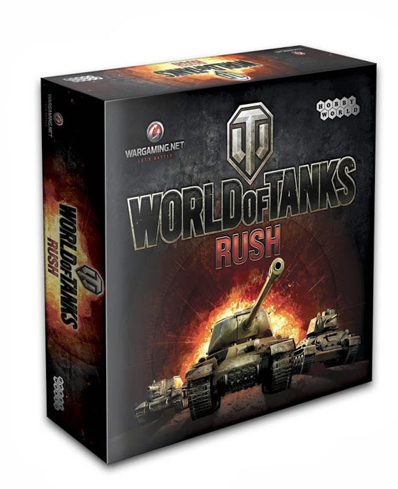 Hobby World Настольная игра World of Tanks Rush (2-е издание) hobby world настольная игра world of tanks rush второй фронт