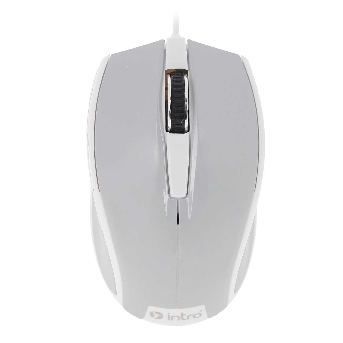 Мышь Intro MU104, Gray мышь intro mu190