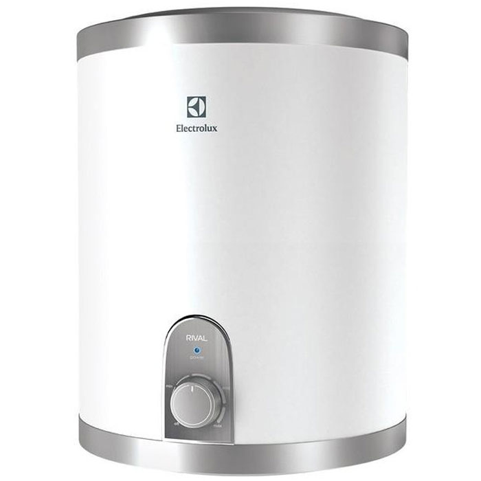 Водонагреватель накопительный электрический Electrolux EWH 10 Rival U, 10 л, белый, серый