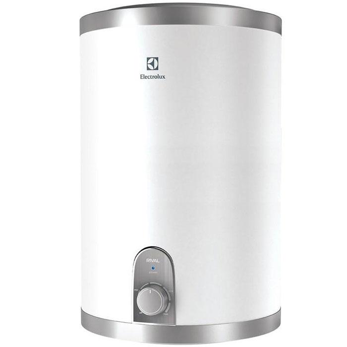 Водонагреватель накопительный электрический Electrolux EWH 15 Rival O, 15 л, белый, серый
