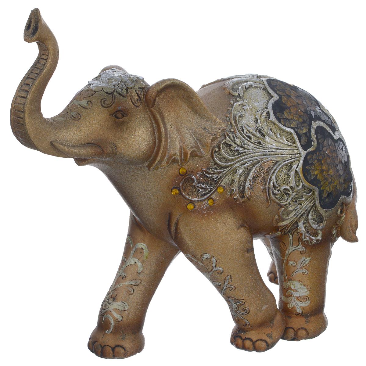 """<b>Фигурка декоративная</b> Molento """"<b>Слон с</b> мозаикой"""", высота 21 см ..."""