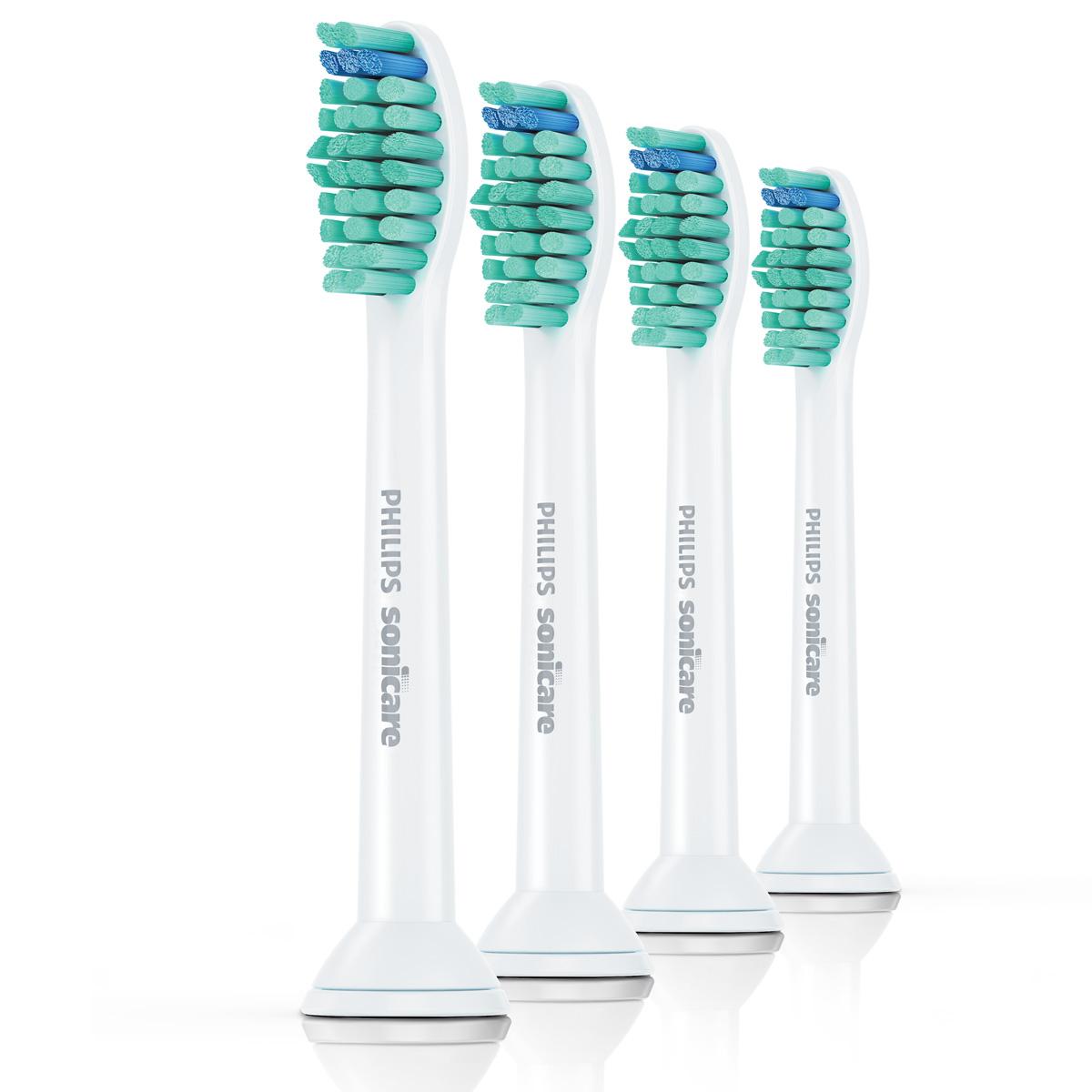Насадка для электрической зубной щетки Philips Sonicare ProResults HX6014/07, 4 шт