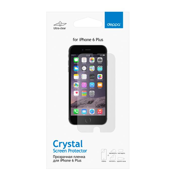 Deppa защитная пленка для Apple iPhone 6 Plus, прозрачная стоимость