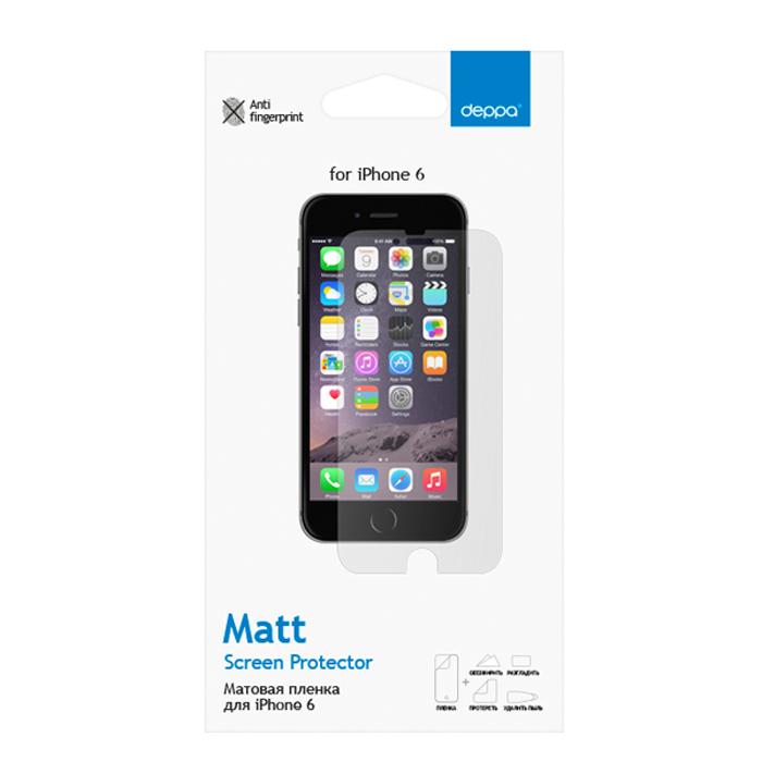 Deppa защитная пленка для Apple iPhone 6, матовая