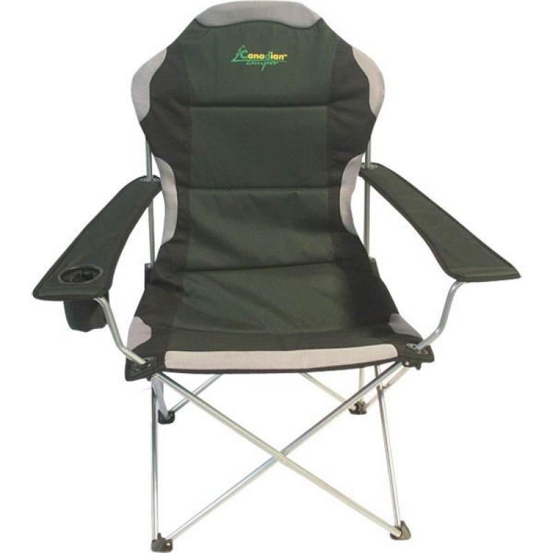 Кресло складное Canadian Camper CC-128, цвет: зеленый, 58 см х 66 см х 48/108 см кресло складное happy camper цвет зеленый