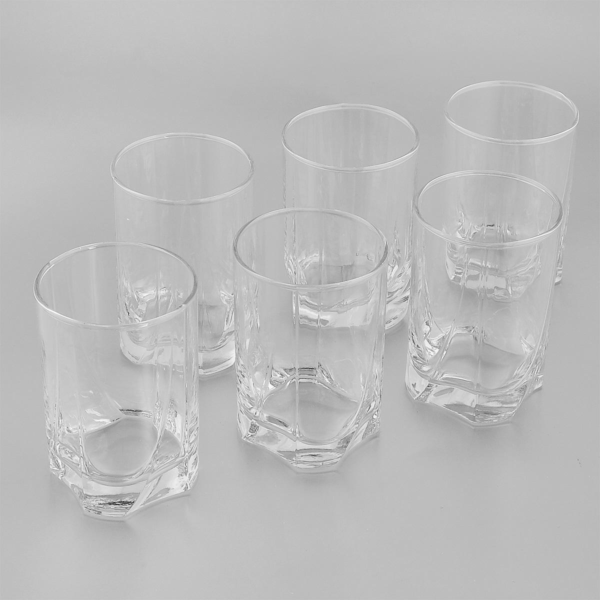 "Набор стаканов Pasabahce ""Luna"", 255 мл, 6 шт"
