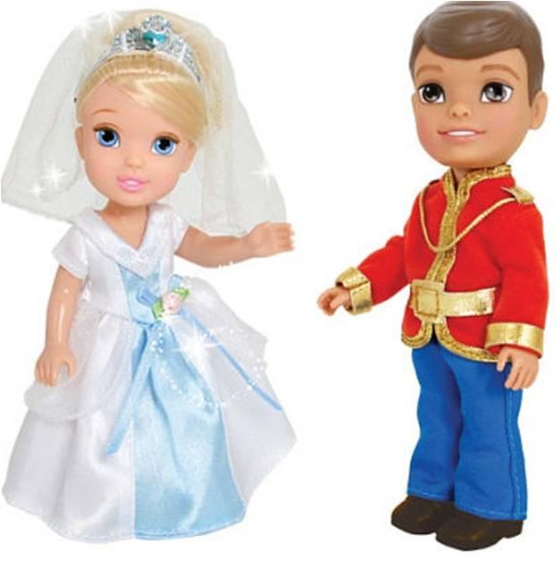 Disney Princess Игровой набор с мини-куклами Petite Princess Cinderella and Prince Charming nina bruhns prince charming for 1 night