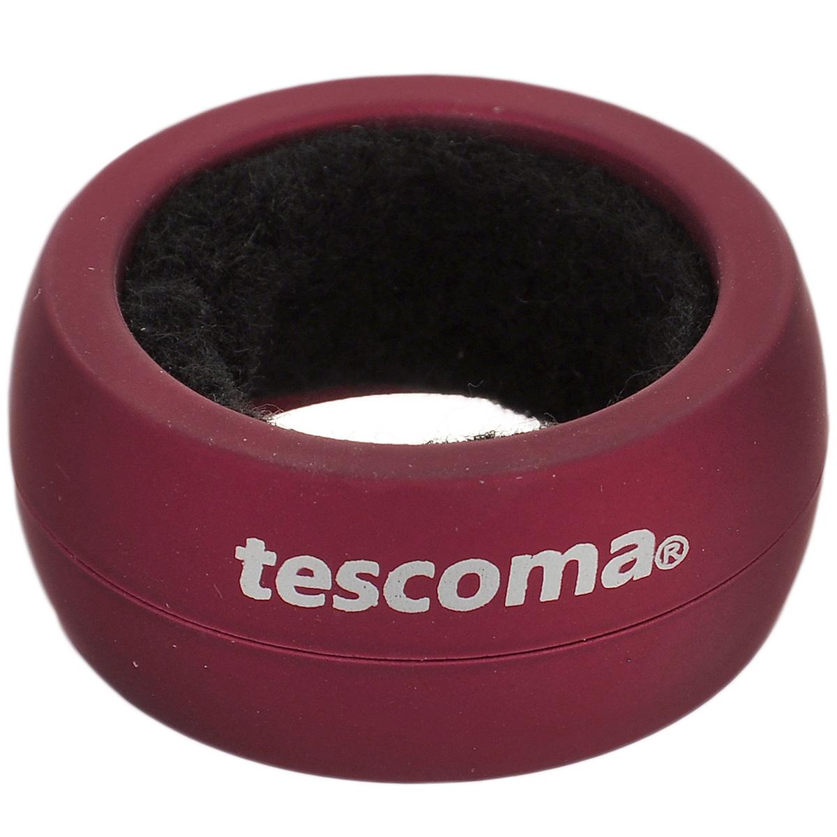 Кольцо для капель Tescoma Uno Vino, цвет: бордовый штопор сомелье tescoma uno vino 695412