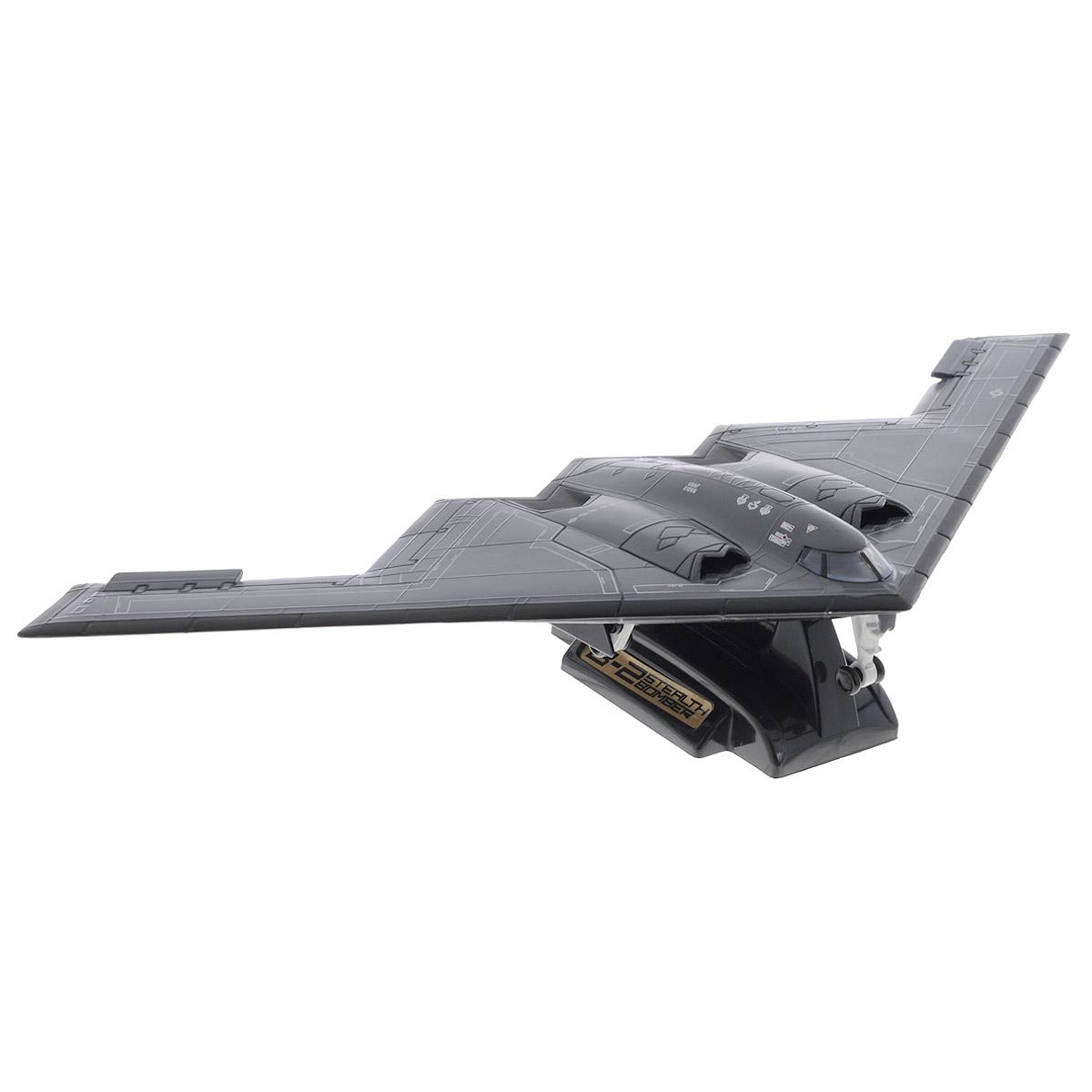 MotorMax Самолет Northrop Grumman B-2 Spirit motormax коллекционная модель мотоцикла kawasaki vulcan цвет синий серебристый масштаб 1 18