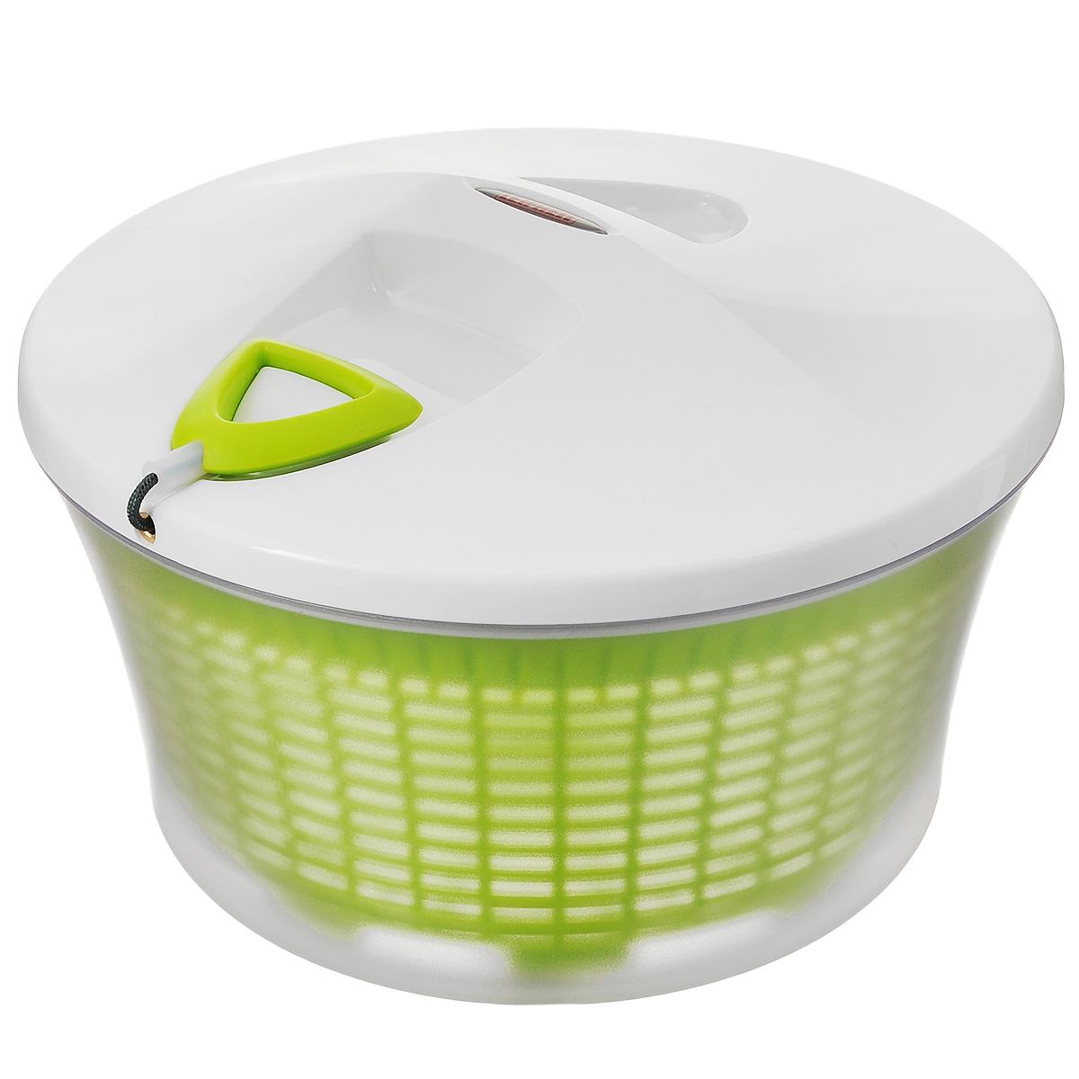 Емкость для сушки зелени Leifheit Comfort Line, цвет в ассортименте, диаметр 27 см емкость для сушки зелени leifheit comfort line цвет белый салатовый диаметр 27 см
