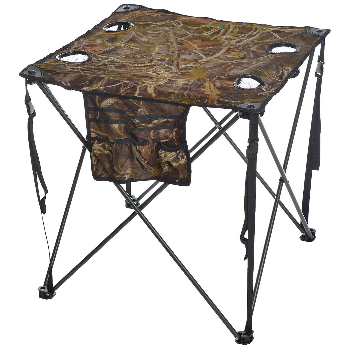 Стол складной Canadian Camper CC-TA431, 68 см х 68 см х 68 см цена