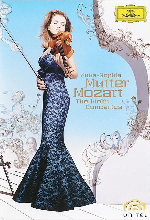 Anne-Sophie Mutter: Mozart The Violin Concertos (2 DVD) anne sophie mutter anne sophie mutter the club album 2 lp 180 gr