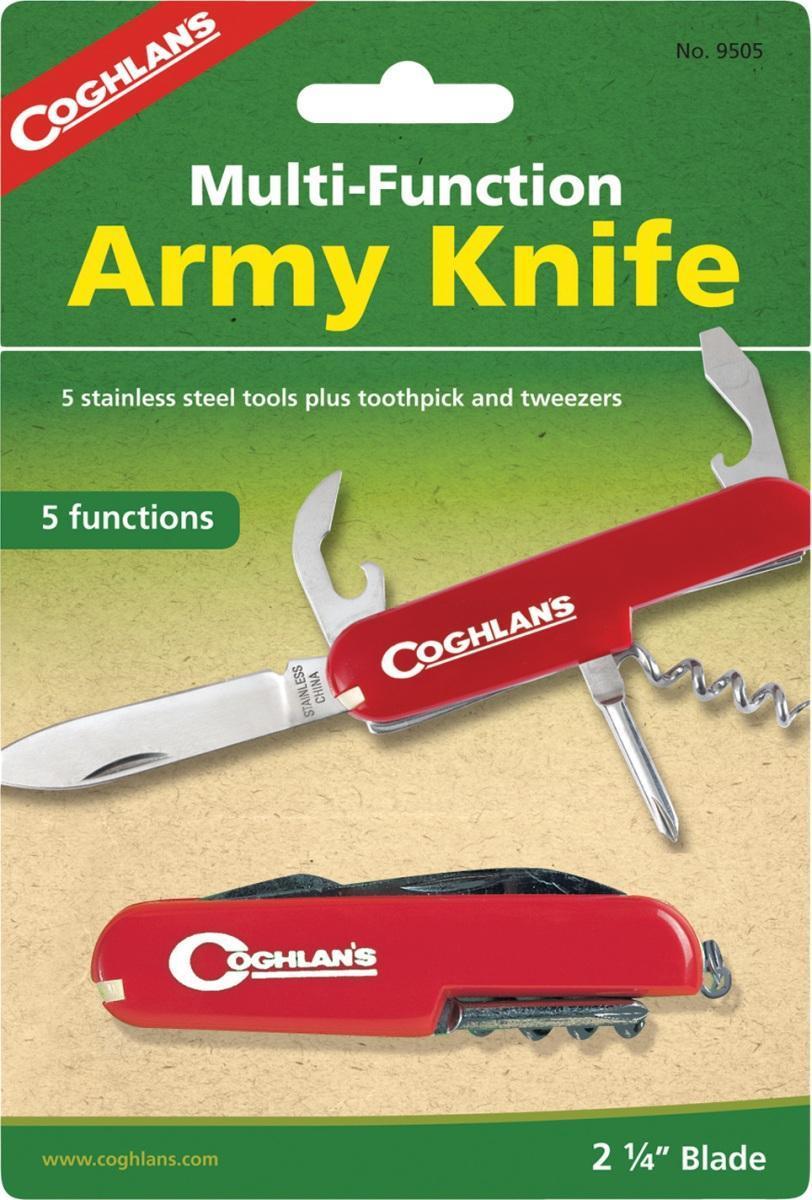 купить Многофункциональный туристический нож COGHLAN'S (5 функций) по цене 508 рублей