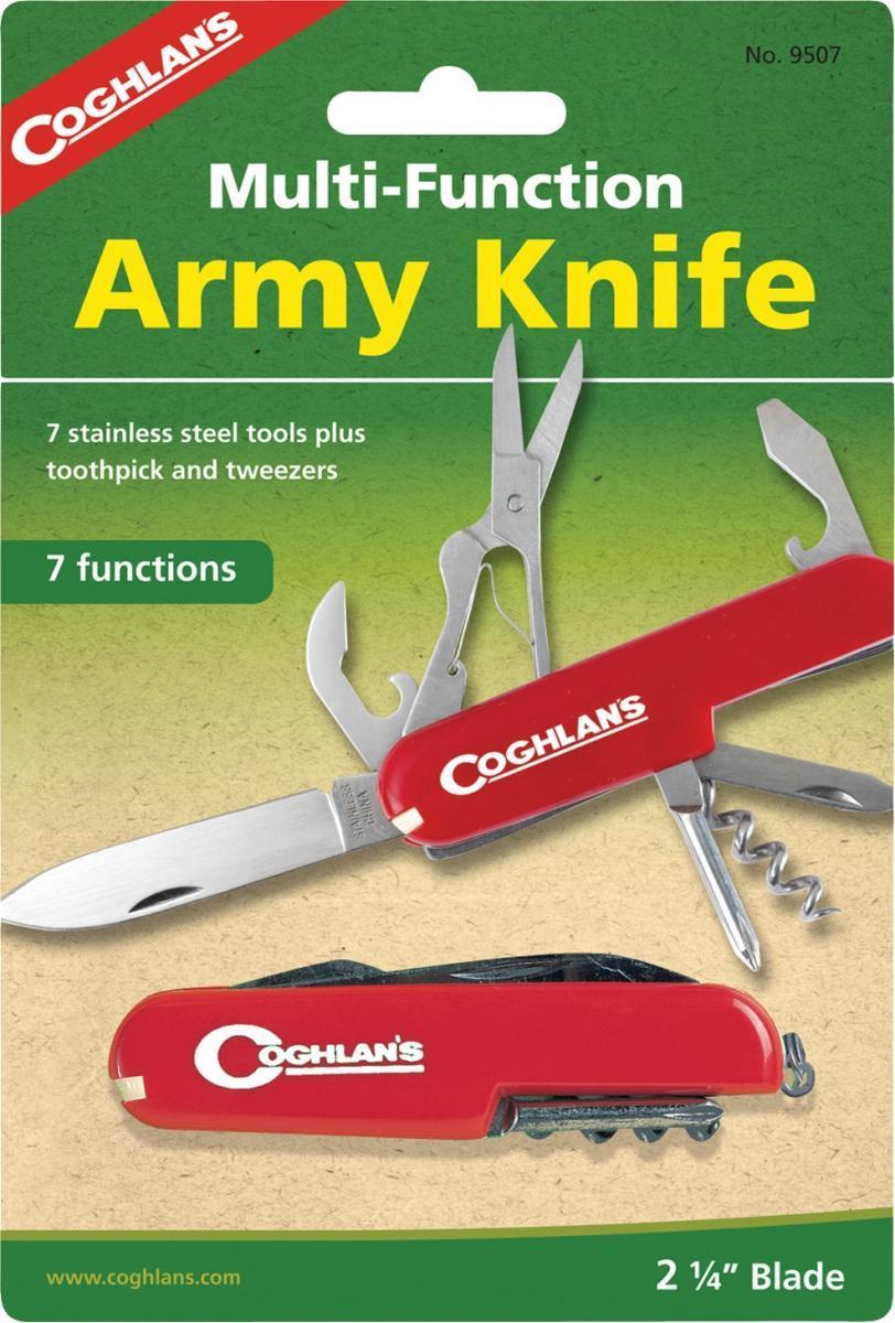 купить Многофункциональный туристический нож COGHLAN'S (7 функций) по цене 595 рублей