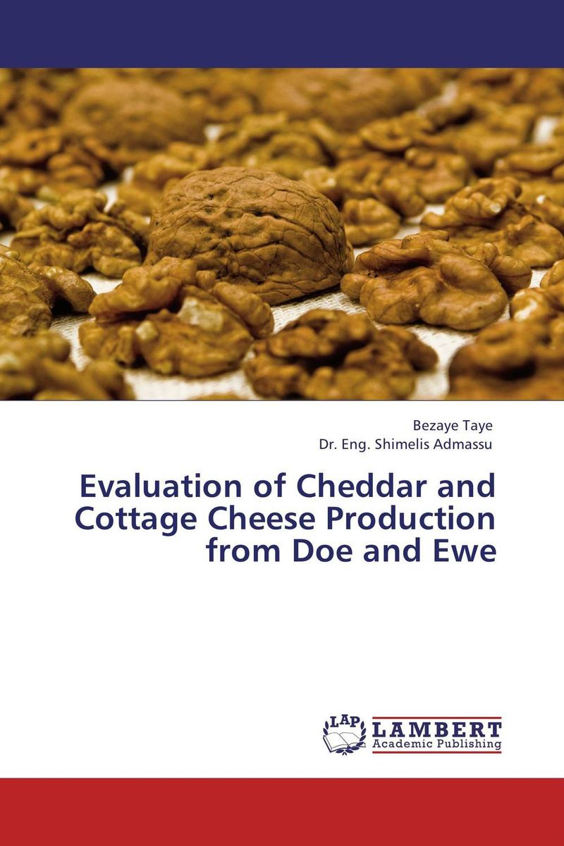 лучшая цена Evaluation of Cheddar and Cottage Cheese Production from Doe and Ewe