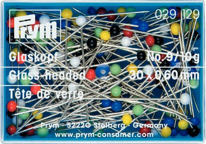 Набор булавок Prym, длина 3 см, 40 шт. 029129 булавки для шитья gamma ромашка 40 шт
