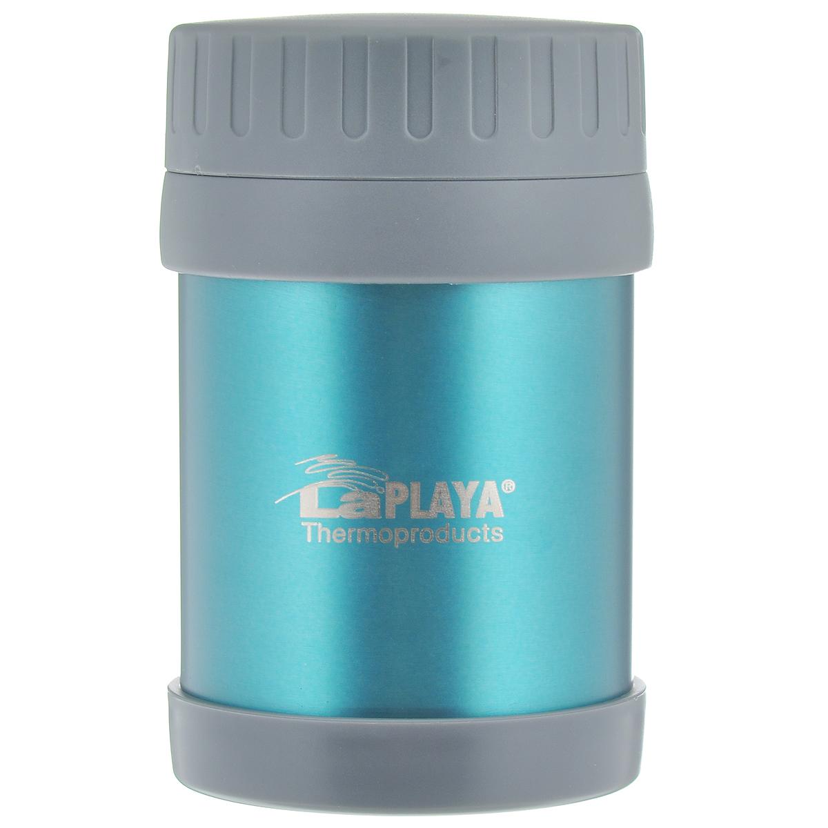 """Термос для еды LaPlaya """"Food Container"""", цвет: синий, 350 мл"""