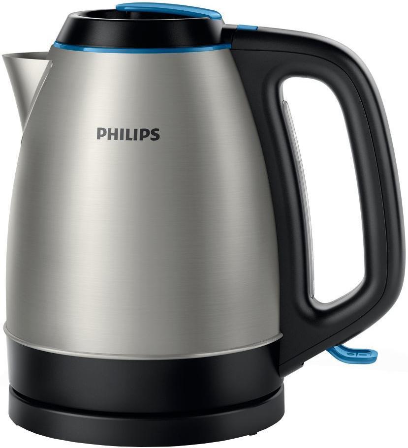 Электрический чайник Philips HD9302/21 чайник электрический philips hd9302 2400вт серебристый и черный