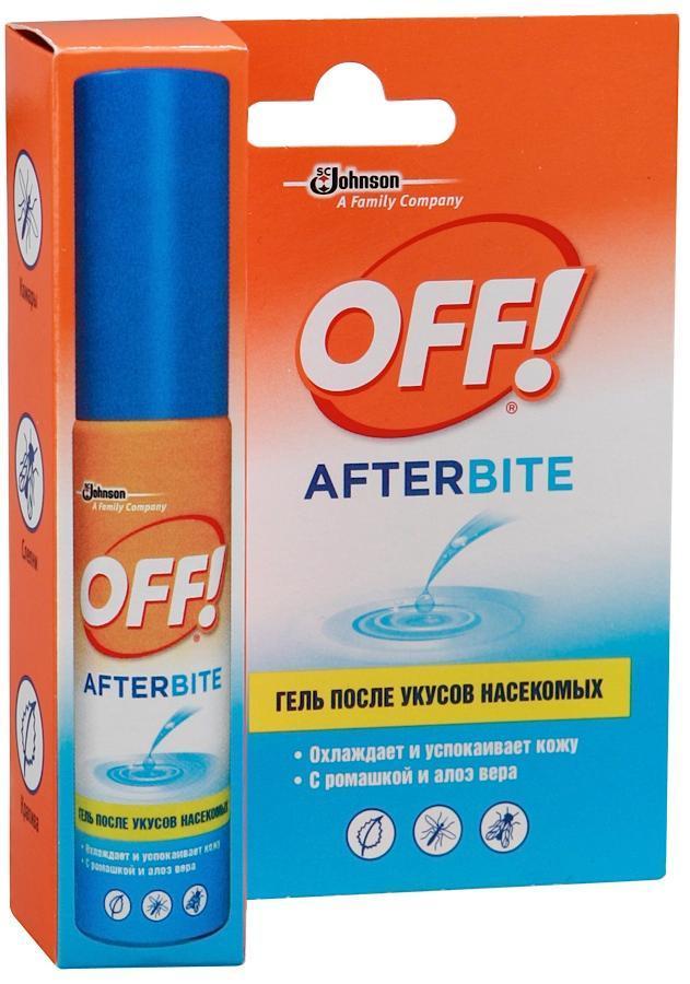 Гель после укусов насекомых ОFF!