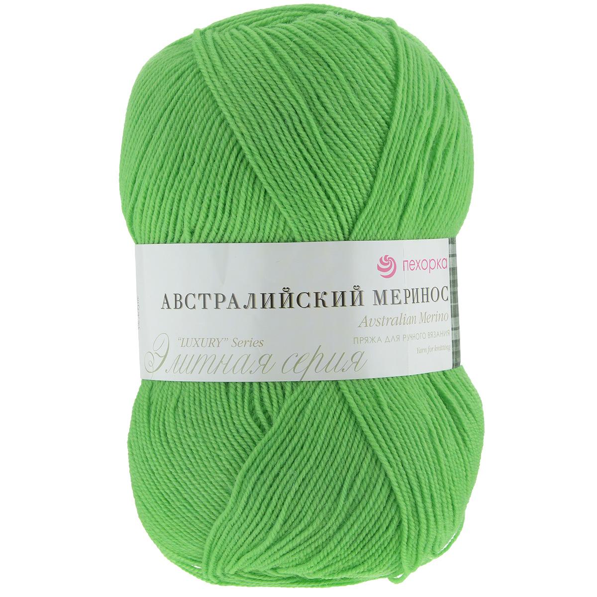 пряжа для вязания пехорка австралийский меринос цвет экзотика