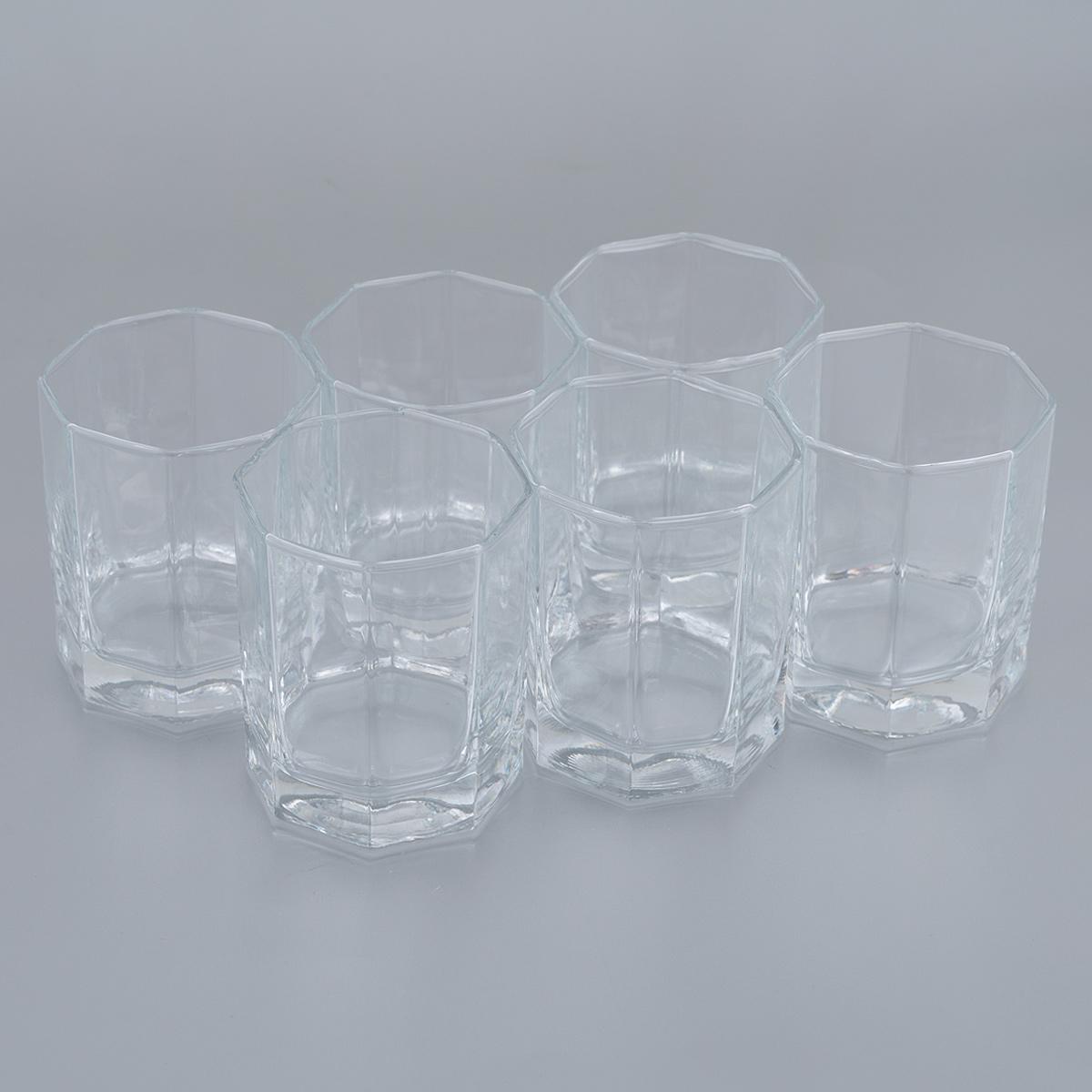 "Набор стаканов для сока Pasabahce ""Kosem"", 210 мл, 6 шт"