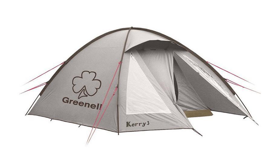 GREENELL Палатка Керри 2 V3, цвет: коричневый. Арт.95511 палатка greenell виржиния 6 плюс green