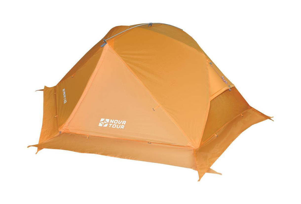 NOVA TOUR Палатка Ай Петри 2 V2, цвет: оранжевый. Арт.95414