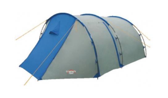 Палатка туристическая CAMPACK-TENT Field Explorer 3 (2013) (серый/голубой) арт.0037637