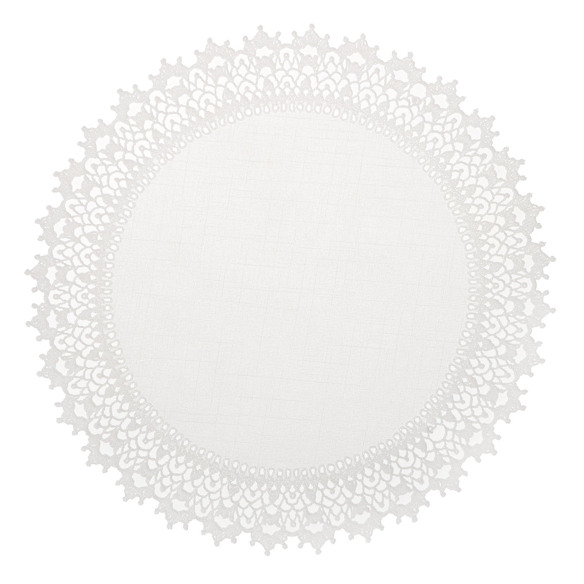 """Набор декоративных салфеток """"Ажурные"""", 6 шт, диаметр 30 см. 811-123"""