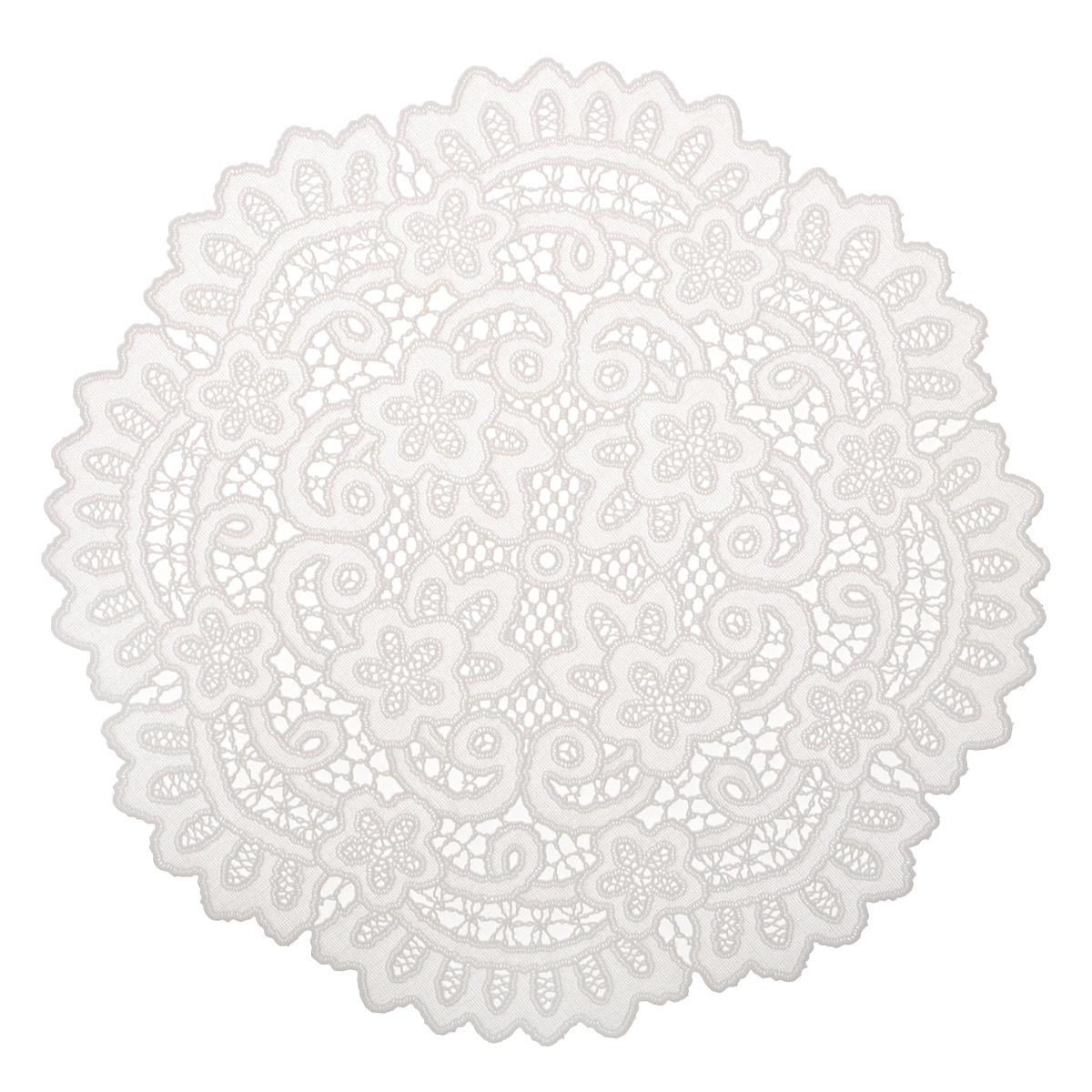 """Набор декоративных салфеток """"Ажурные"""", 6 шт, диаметр 30 см. 811-122"""