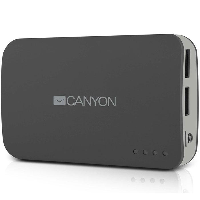<b>Canyon</b> CNE-CPB78, Dark Grey внешний <b>аккумулятор</b> — купить в ...