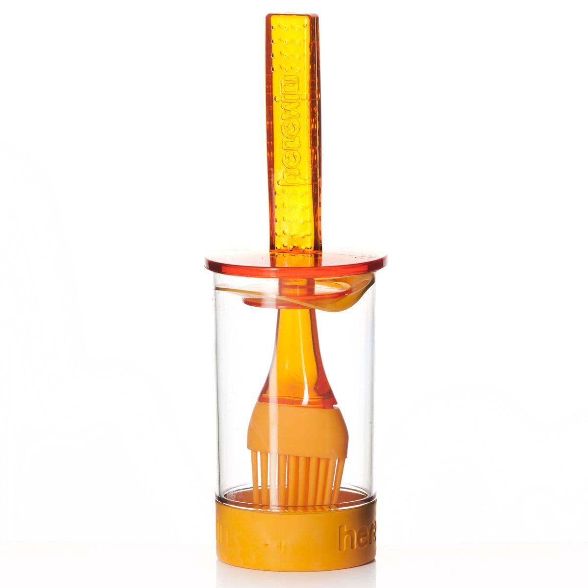 """Емкость для соуса """"Herevin"""", 161260-000, с кисточкой, 250 мл, цвет в ассортименте"""