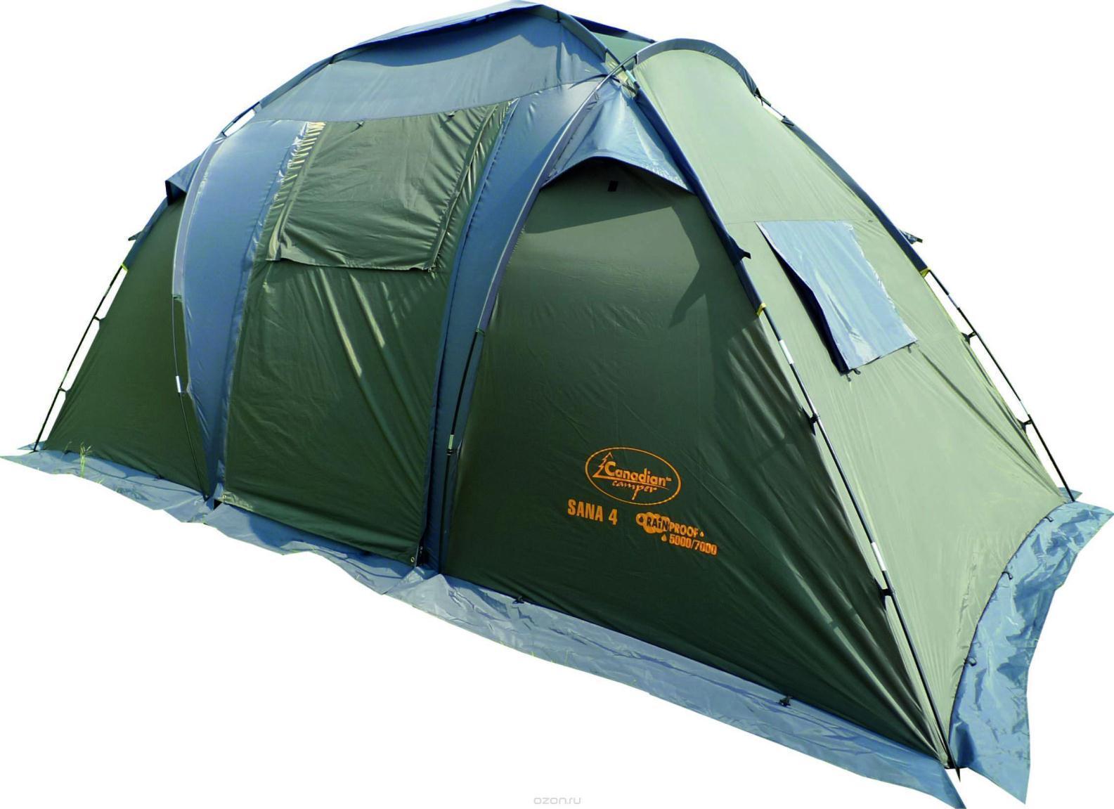 Палатка CANADIAN CAMPER SANA 4 (цвет forest) sana beauty cafe