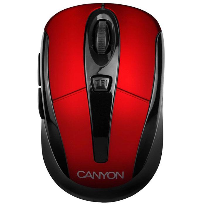 Мышь Canyon CNR-MSOW06, Red