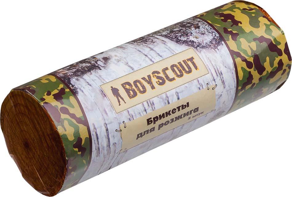 Брикеты для розжига Boyscout, 5 шт 61042 брикеты для розжига грилькофф 64 шт