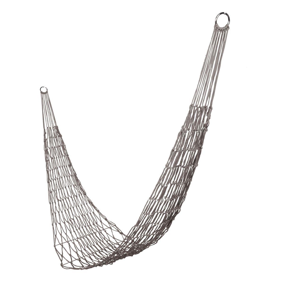 Гамак-сетка Boyscout Походный, цвет: серый, 200 х 80 см гамак сетка boyscout 61074