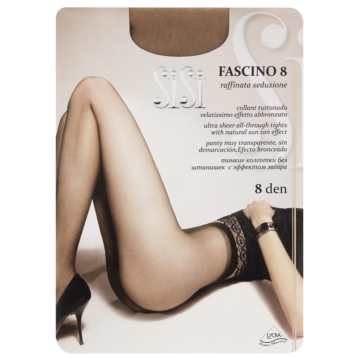 Колготки Sisi Fascino колготки sisi be free размер 3 плотность 40 den miele