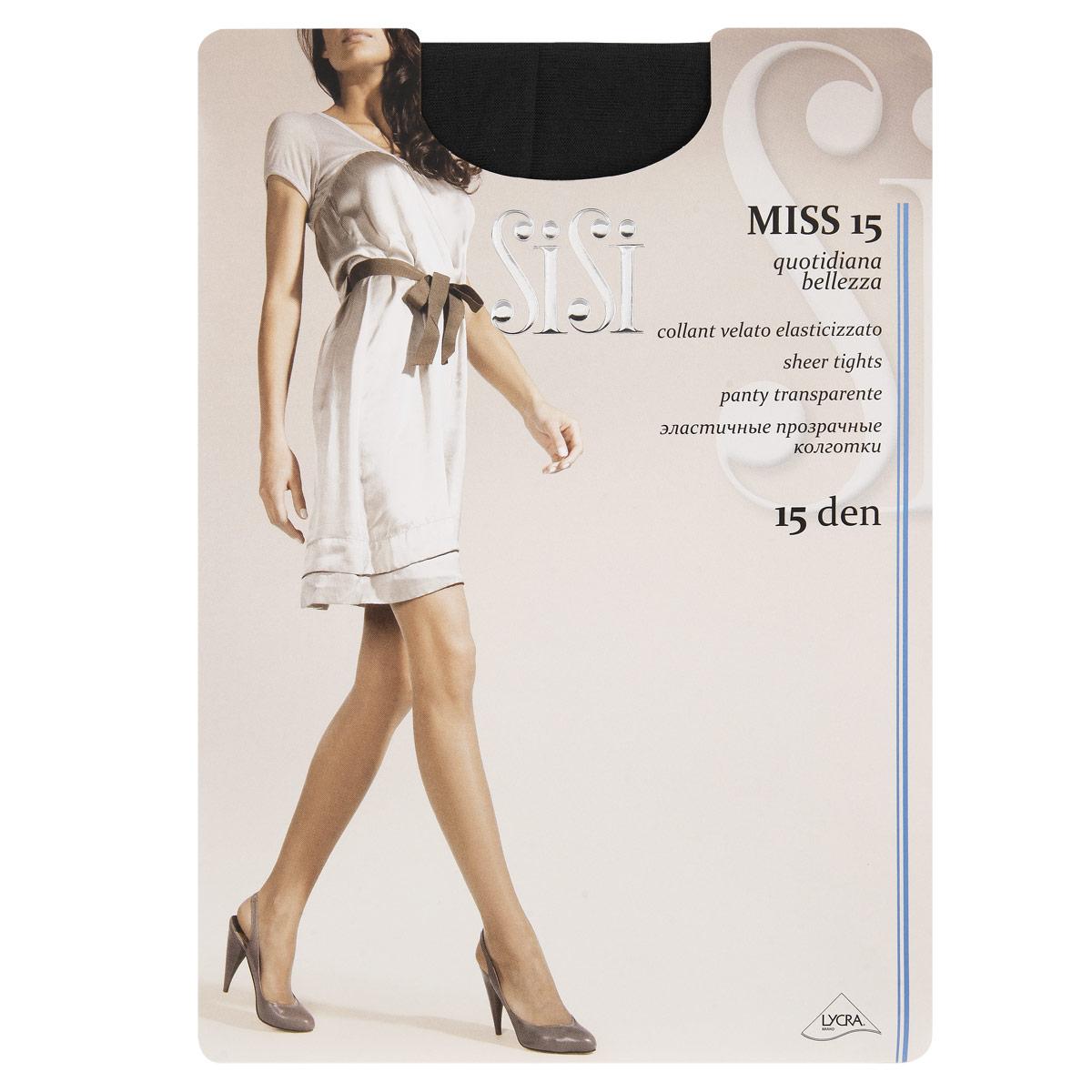 Колготки Sisi Miss колготки sisi be free размер 3 плотность 40 den miele