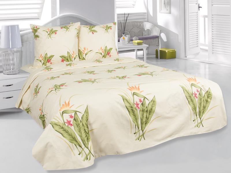 Комплект белья 1,5-спальный Нежность шторы тканевые seven fairy home textiles 6036 5