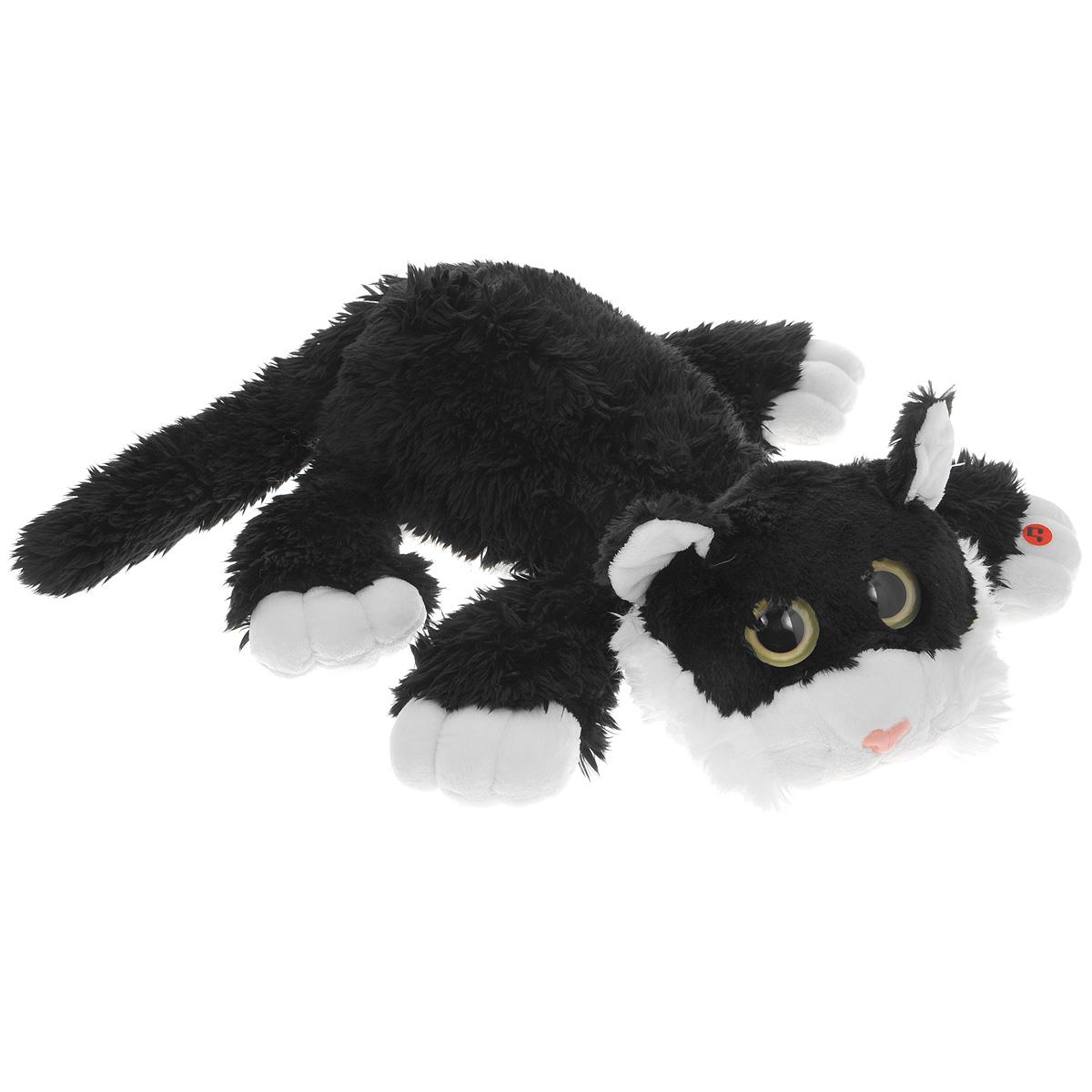Мягкая игрушка Gulliver Котик Шалунишка цвет черный 22 см