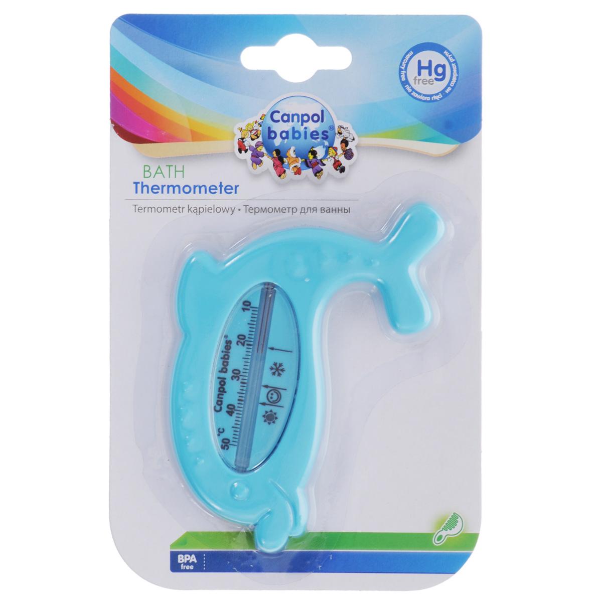Canpol Babies Термометр для ванны цвет голубой термометр для ванны canpol дельфин арт 2 782 цвет синий