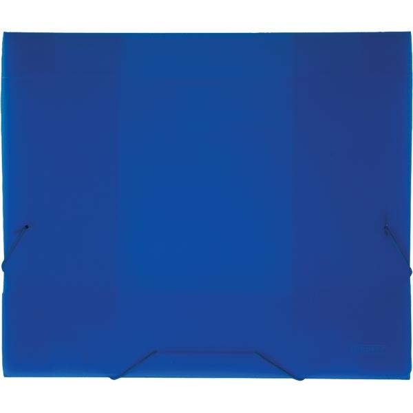 Папка на резинке Proff Next, ширина корешка 40 мм, цвет: синий. Формат А4 proff папка для черчения циркуль 10 листов