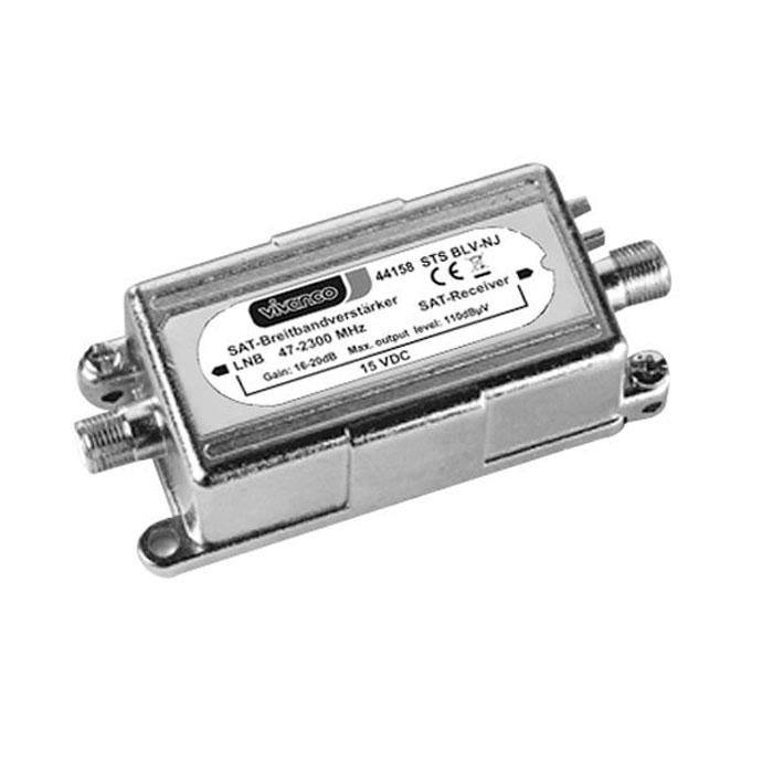 Vivanco антенный усилитель 16-20 дБ (F гнездо-F гнездо) динамик широкополосный fostex fe168ez 1 шт