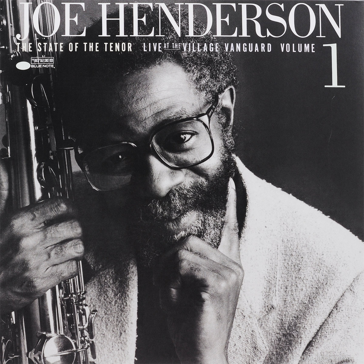 Джо Хендерсон Joe Henderson. The State Of The Tenor. Live At The Village Vanguard. Volume 1 (LP) джо хендерсон joe henderson page one