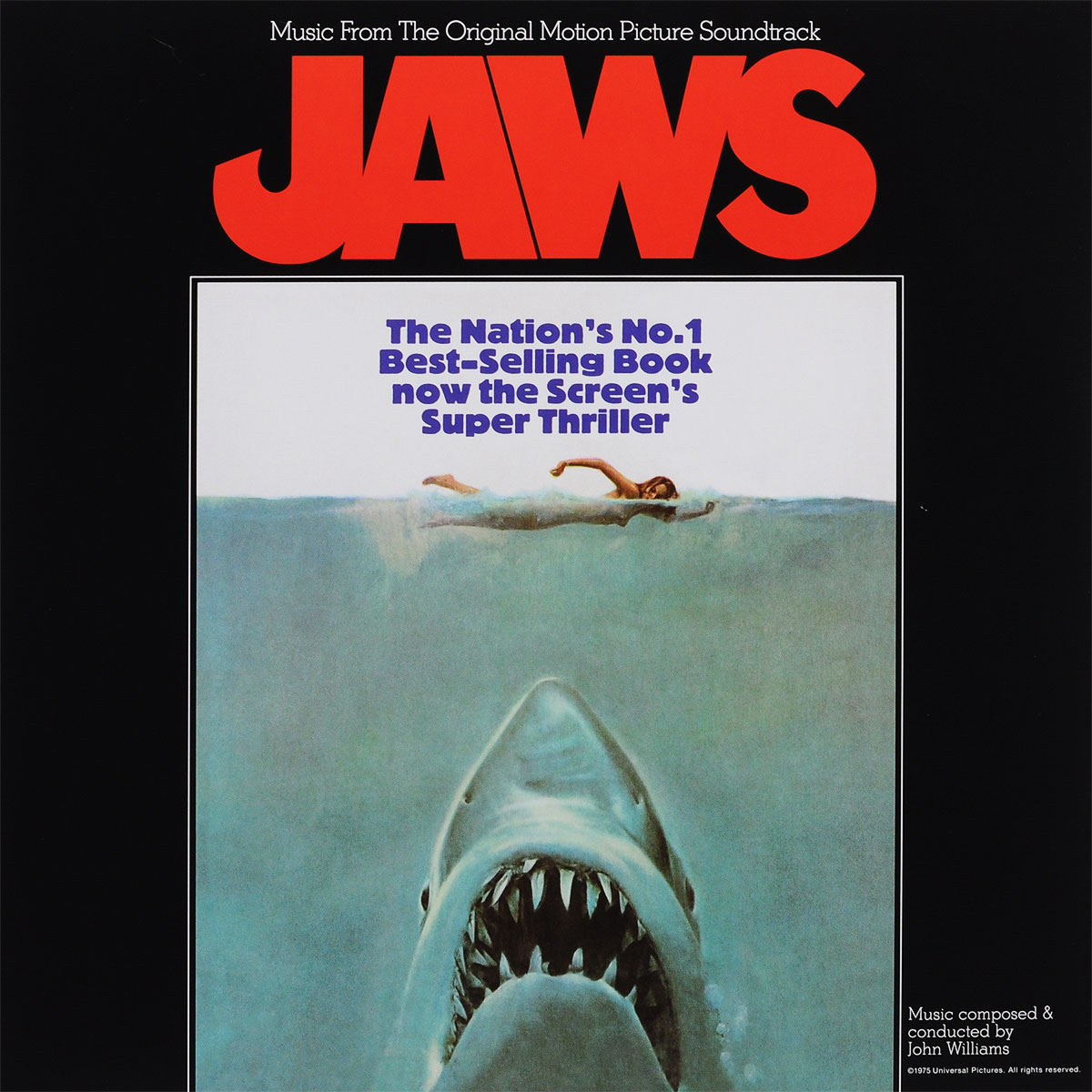 Jaws. Original Motion Picture Soundtrack (LP) butch tavares adi armour the o jays brawl in cell block 99 original motion picture soundtrack lp