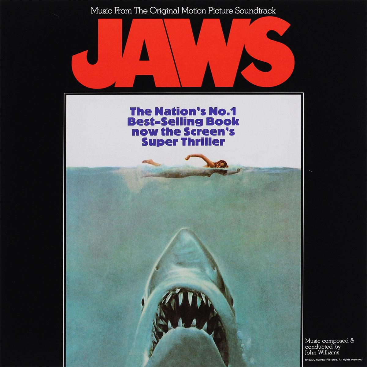 Jaws. Original Motion Picture Soundtrack (LP) godzilla 2000 millennium original motion picture soundtrack